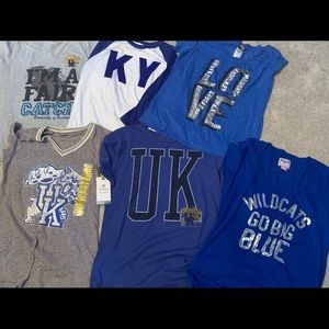 Assorted KY Wildcats shirts M,L,Xl